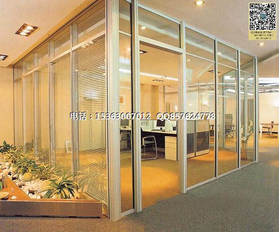 办公室玻璃隔断,玻璃隔断优势,玻璃隔墙