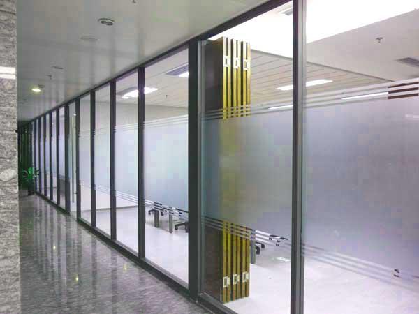 单层玻璃隔断,单玻隔墙