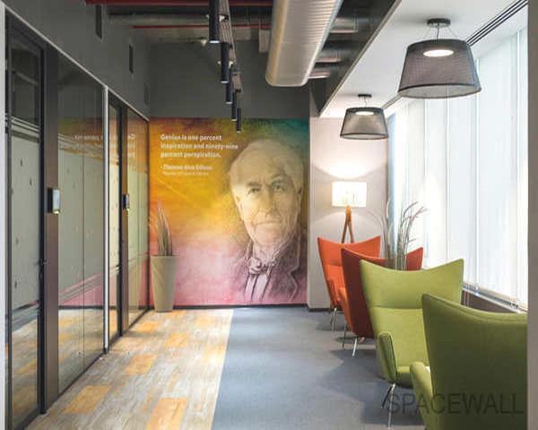 芜湖玻璃隔断办公设计欣赏