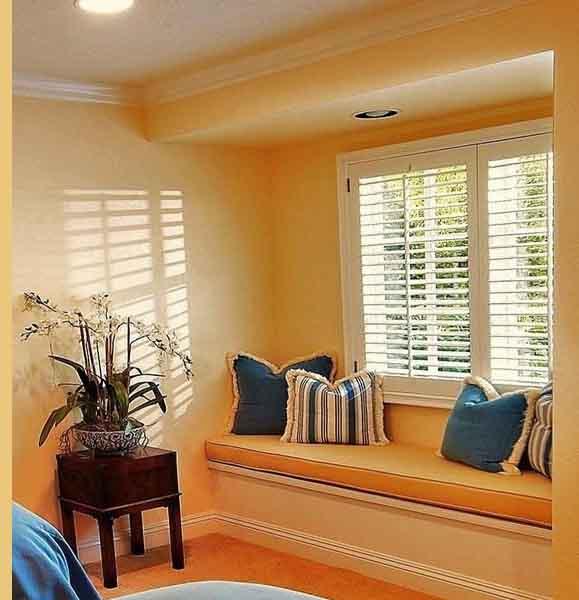 飘窗设计,装修设计,玻璃窗设计,隔断设计,窗帘设计